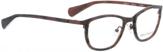 BELLINGER CIRCLE-1 glasses in Brown