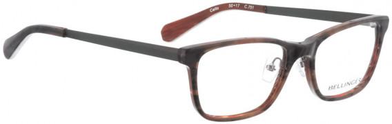 BELLINGER CELLO glasses in Grey Pattern