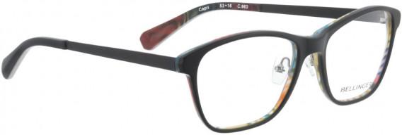 BELLINGER CAPRI glasses in Black