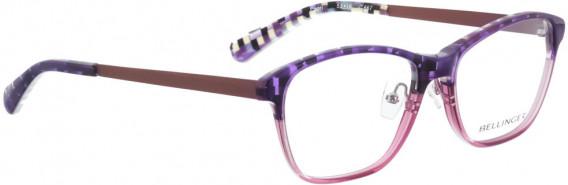 BELLINGER CAPRI glasses in Purple Pattern