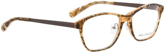 BELLINGER CAPRI glasses in Brown Pattern
