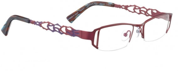 BELLINGER CAMOUFLAGE-1 glasses in Red Berry