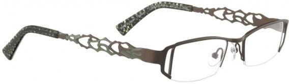 BELLINGER CAMOUFLAGE-1 glasses in Chocolate Brown