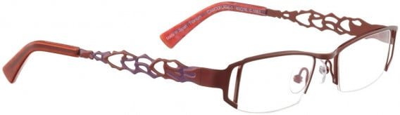 BELLINGER CAMOUFLAGE-1 glasses in Shiny Red