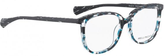 BELLINGER BROWS-5 glasses in Blue Pattern