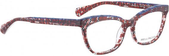 BELLINGER BROWS-2 glasses in Red Pattern