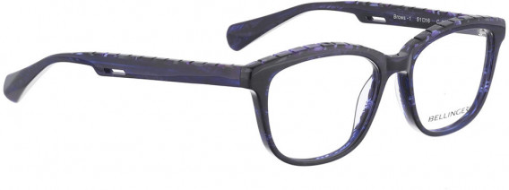 BELLINGER BROWS-1 glasses in Dark Purple