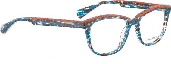 BELLINGER BROWS-1 glasses in Blue Pattern