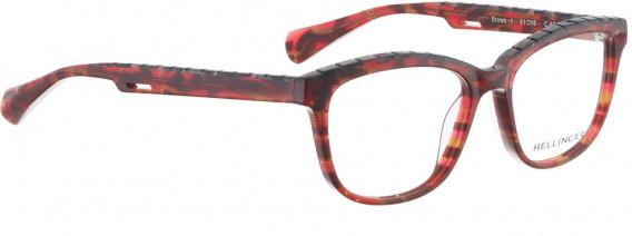 BELLINGER BROWS-1 glasses in Red Pattern