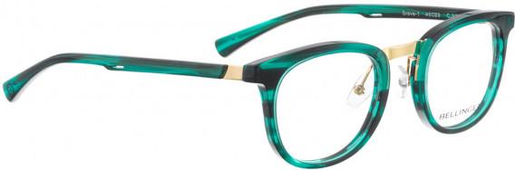 BELLINGER BRAVE-1 glasses in Green Pattern