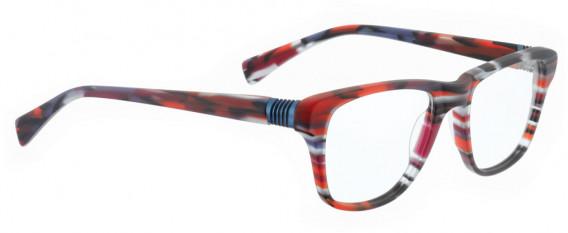 BELLINGER BOUNCE-20 glasses in Matt Red Pattern