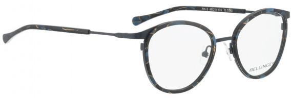 BELLINGER ARC-5 glasses in Grey-Blue Pattern