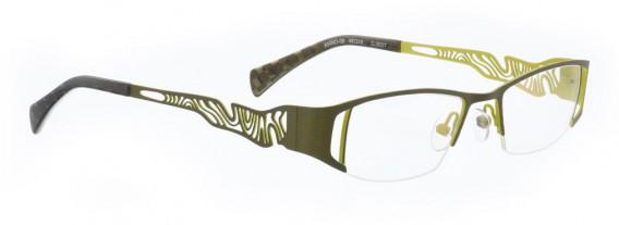 BELLINGER ANNO-09 glasses in Olive Green
