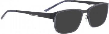 BELLINGER CIRCLE-9 sunglasses in Black