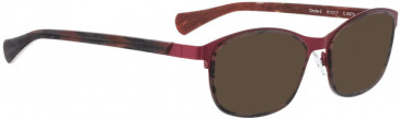 BELLINGER CIRCLE-2 sunglasses in Wine Red