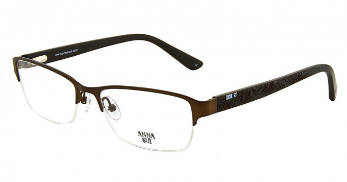Anna Sui AS210 Glasses in Brown
