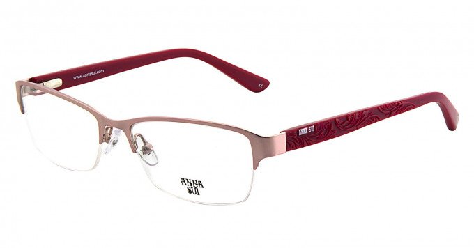 Anna Sui AS210 Glasses in Pink