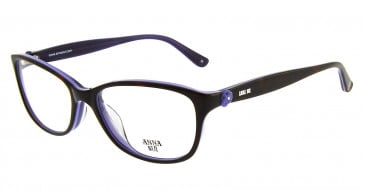 Anna Sui AS610 Glasses in Black
