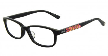 Anna Sui AS612 Glasses in Black