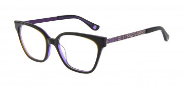 Anna Sui AS659A Glasses in Black/Purple