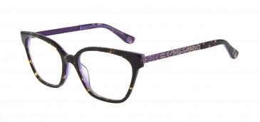 Anna Sui AS659A Glasses in Black/Purple
