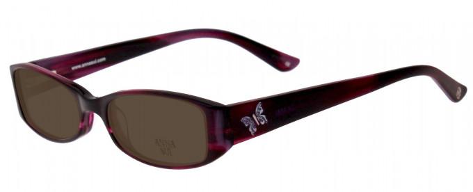 Anna Sui AS569 Sunglasses in Gunmetal