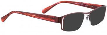 BELLINGER PIET sunglasses in Aubergine