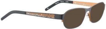 BELLINGER PANTON-2 sunglasses in Black