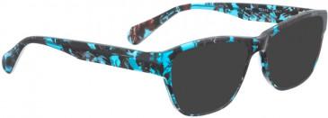 BELLINGER NOVA sunglasses in Black Blue Pattern
