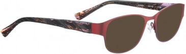 BELLINGER NANNA sunglasses in Aubergine