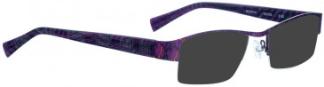 BELLINGER MUMTAC sunglasses in Purple Pattern