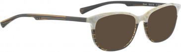 BELLINGER MOOD sunglasses in Brown Stripes