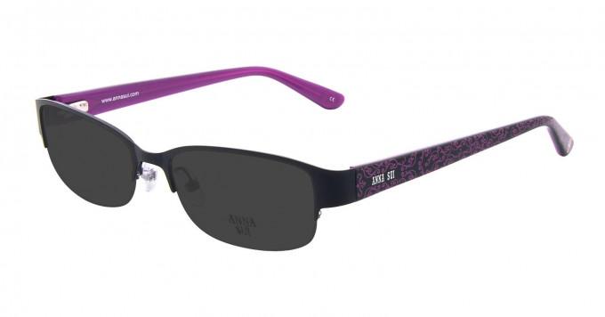 Anna Sui AS202 Sunglasses in Black