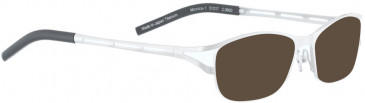 BELLINGER MONICA-1 sunglasses in White Pearl