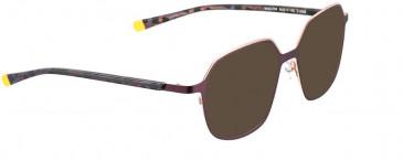 BELLINGER MISTY-200 sunglasses in Purple