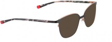 BELLINGER MISTY-100 sunglasses in Black
