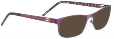 BELLINGER MANZ-3 sunglasses in Metallic Purple