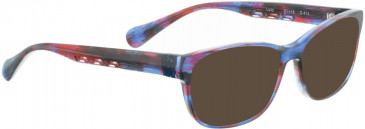 BELLINGER LUCY-52 sunglasses in Blue/Pink Pattern