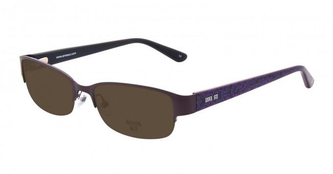 Anna Sui AS202 Sunglasses in Purple