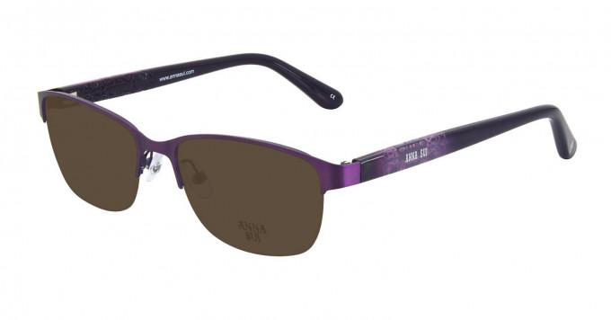 Anna Sui AS204 Sunglasses in Purple