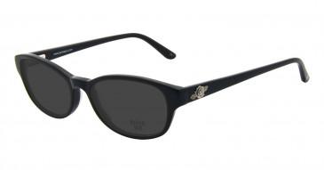 Anna Sui AS593 Sunglasses in Black