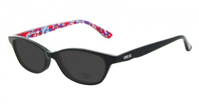 Anna Sui AS594 Sunglasses in Black