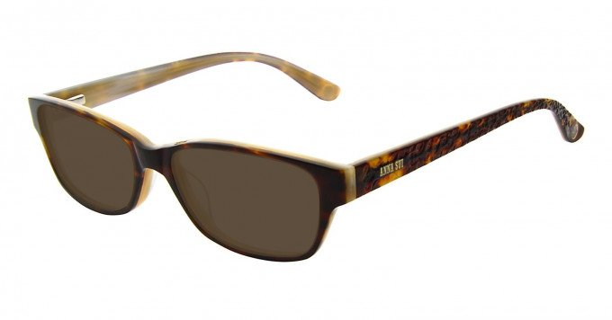 Anna Sui AS596 Sunglasses in Brown