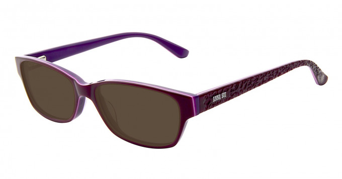 Anna Sui AS596 Sunglasses in Burgundy