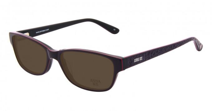 Anna Sui AS596 Sunglasses in Purple
