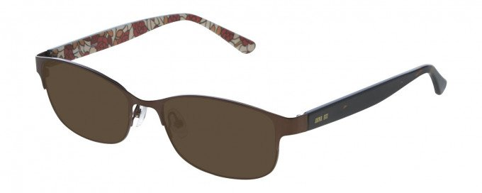 Anna Sui AS207 Sunglasses in Brown