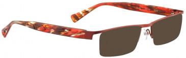 BELLINGER FLAG sunglasses in Gunmetal