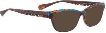 BELLINGER FERN sunglasses in Black Pink Pattern