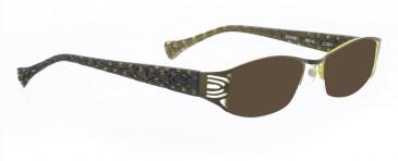BELLINGER EUSEBI sunglasses in Olive Green