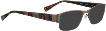 BELLINGER DITZEL sunglasses in Dark Grey